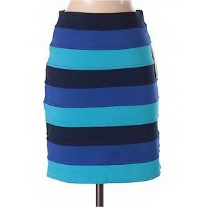 NWT Lilly Pulitzer Cheyenne Striped Pencil Skirt